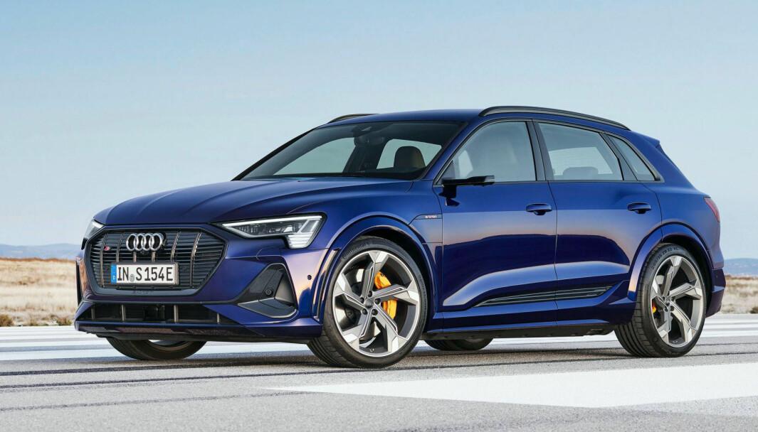 SKAL FORBEDRES: Audi har truffet blink med sin e-tron i Norge – og er første Audi-modell som er blitt toppselger i noe land noensinne.