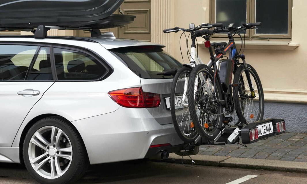 LAST OPP: Med takboks og sykkelfeste blir det plass til mer.