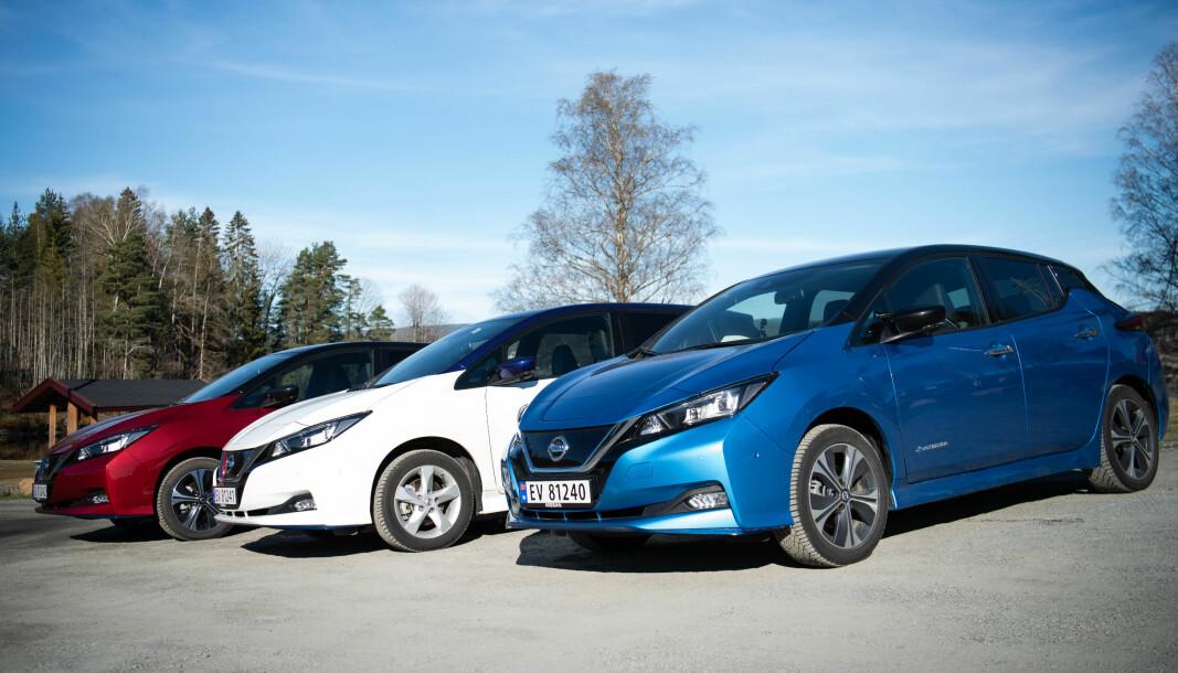 NORGES-BIL: I løpet av året vil Nissan Leaf ha passert 70.000 registreringer i Norge og troner suverent øverst på elbiltoppen totalt.