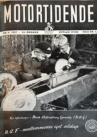 <b>1957: </b>Med råd for alle slags biler.