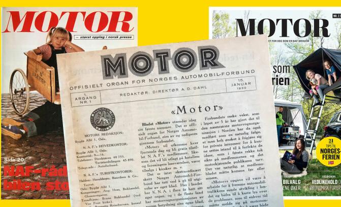 Her er Motor gjennom 90 år