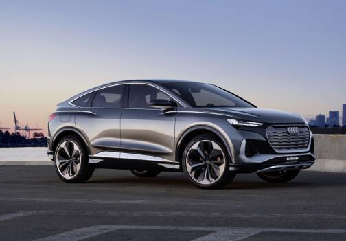 Audi med ny elektrisk SUV