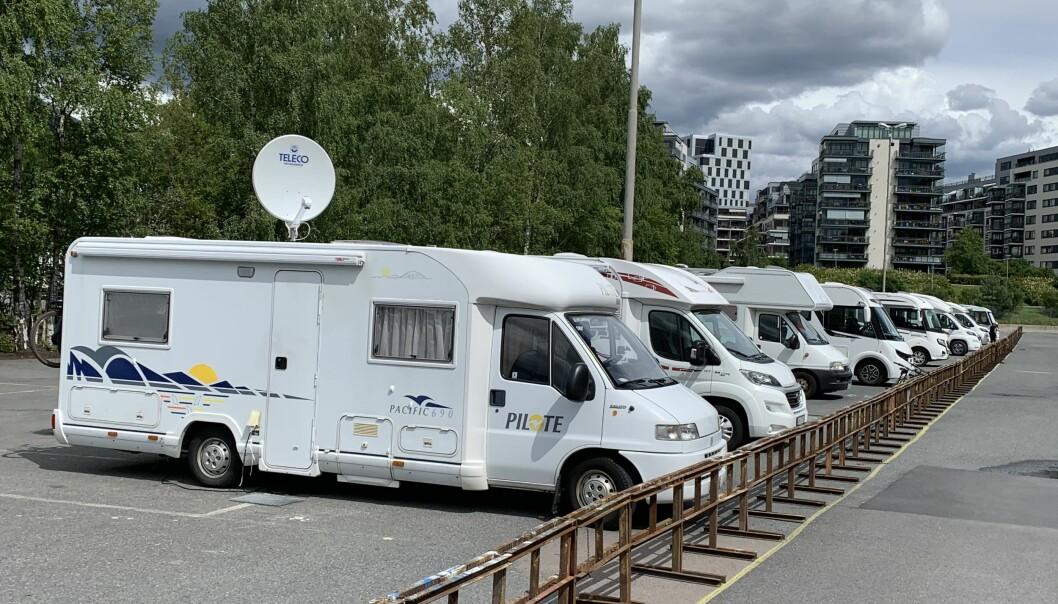 BOBILTOPPEN: 95 familier i Ullensaker kommune kjøpte en ny slik en i fjor.