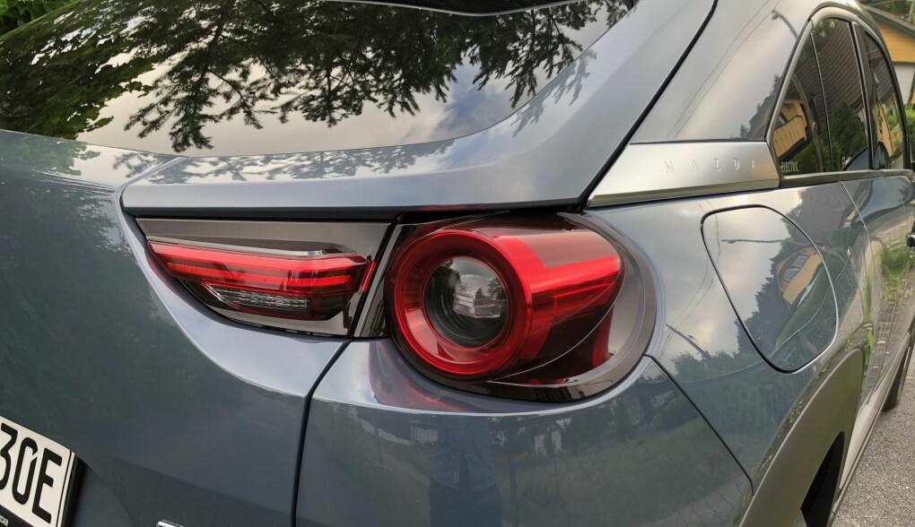 <b>DESIGN: </b>Mazda er flinke med detaljene. Som her, med baklysene.