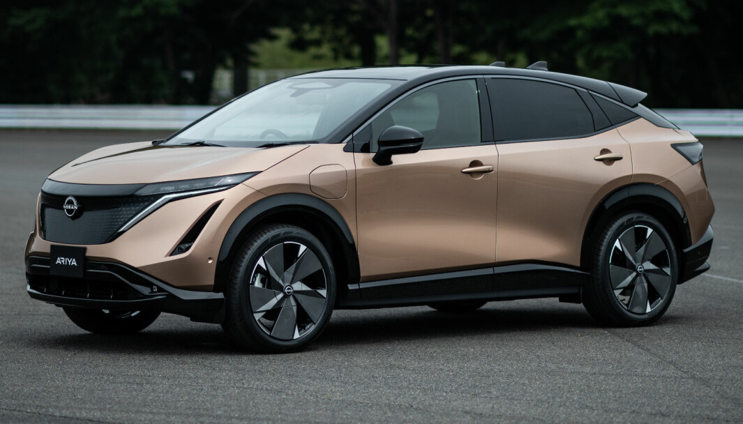 <b>OPPSIKT: </b>Nissan har virkelig brukt kreativiteten på sin nye elbil.