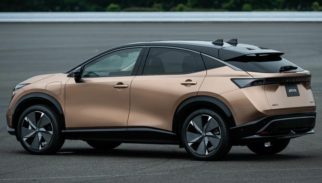 """<span class="""" font-weight-bold"""" data-lab-font_weight_desktop=""""font-weight-bold"""">SPENNENDE:</span> Nissan Ariya"""