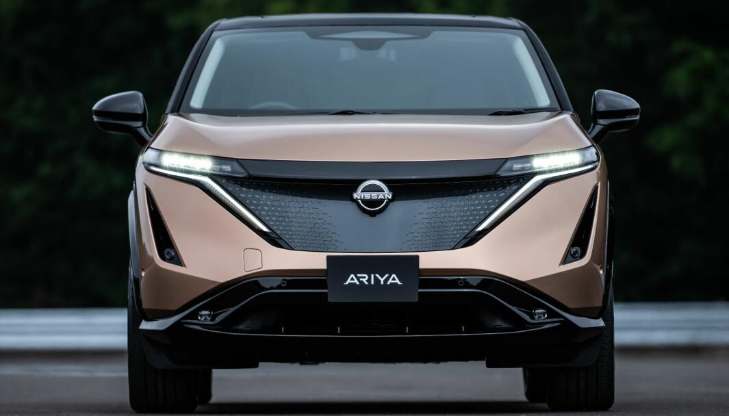 KOMMER I SOMMER: Nissan Ariya er en av årets store elektriske bilnyheter.