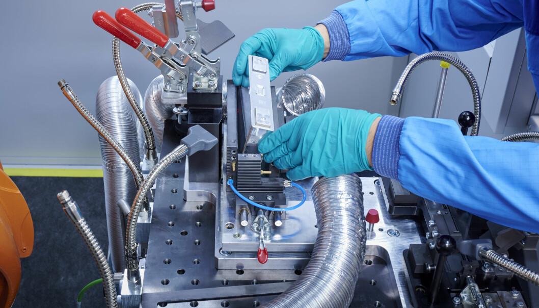 SAMARBEID: BMW og svenske Northvolt skal samarbeide om batteriproduksjon.