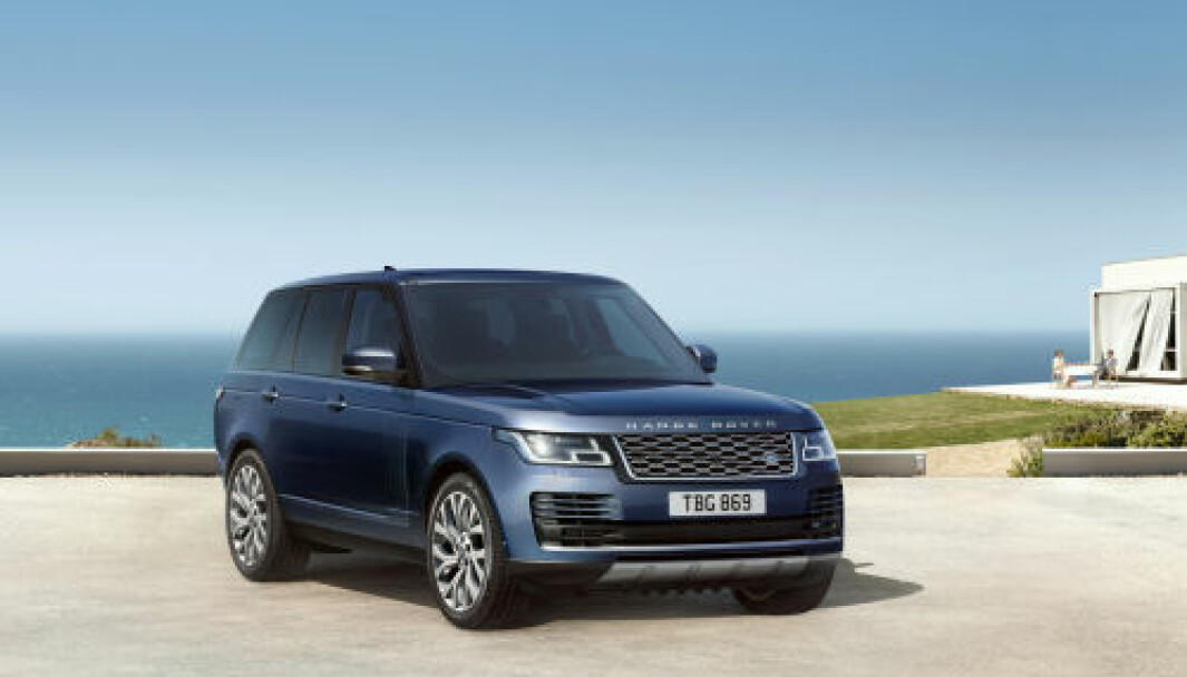 GJERRIGERE: Den nye dieselteknologien skal gjøre Range Rover litt mer klimavennlig.