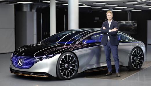 Mercedes EQS skal gå 700 km på én lading