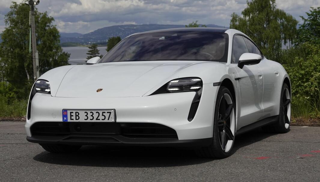 NÅR IKKE SALGSMÅLET: Porsche Taycan har solgt mindre enn ventet.