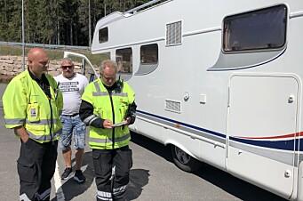 Sjekk tabben som feller norske bobilkjørere