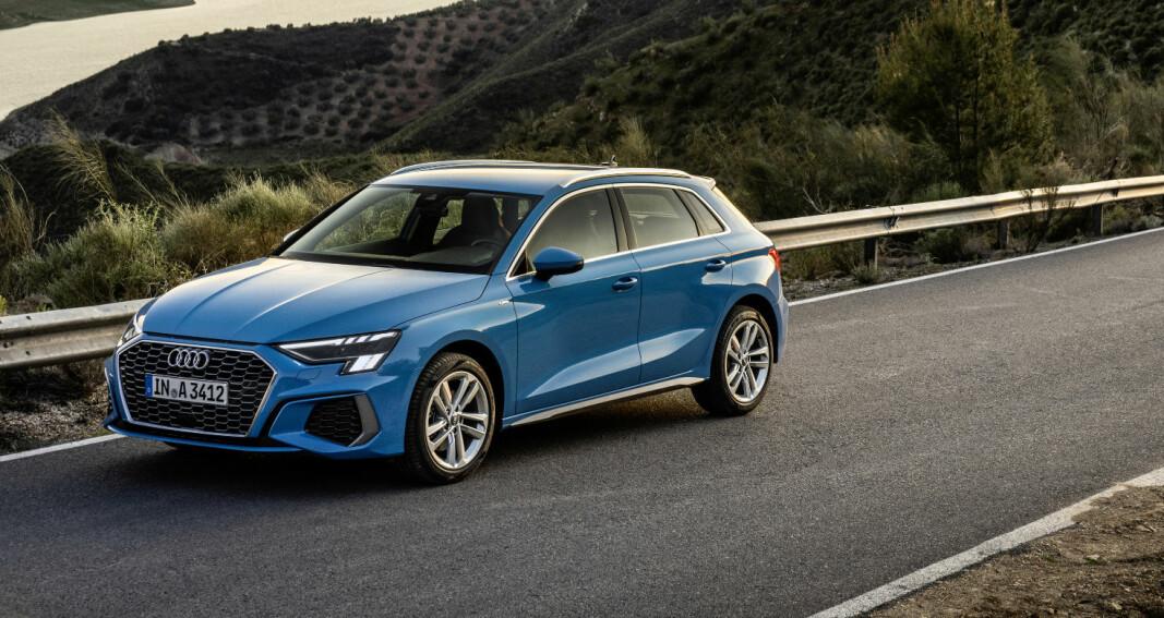 Her er bildene av ny generasjon Audi A3