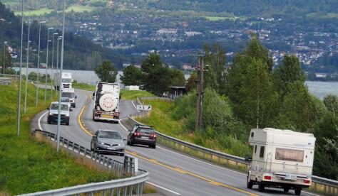 Rekordhøy trafikk på nybygget E6