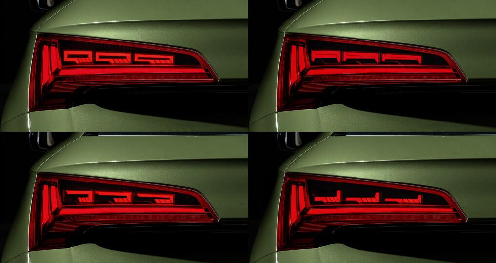 Audi lanserer personlige baklys
