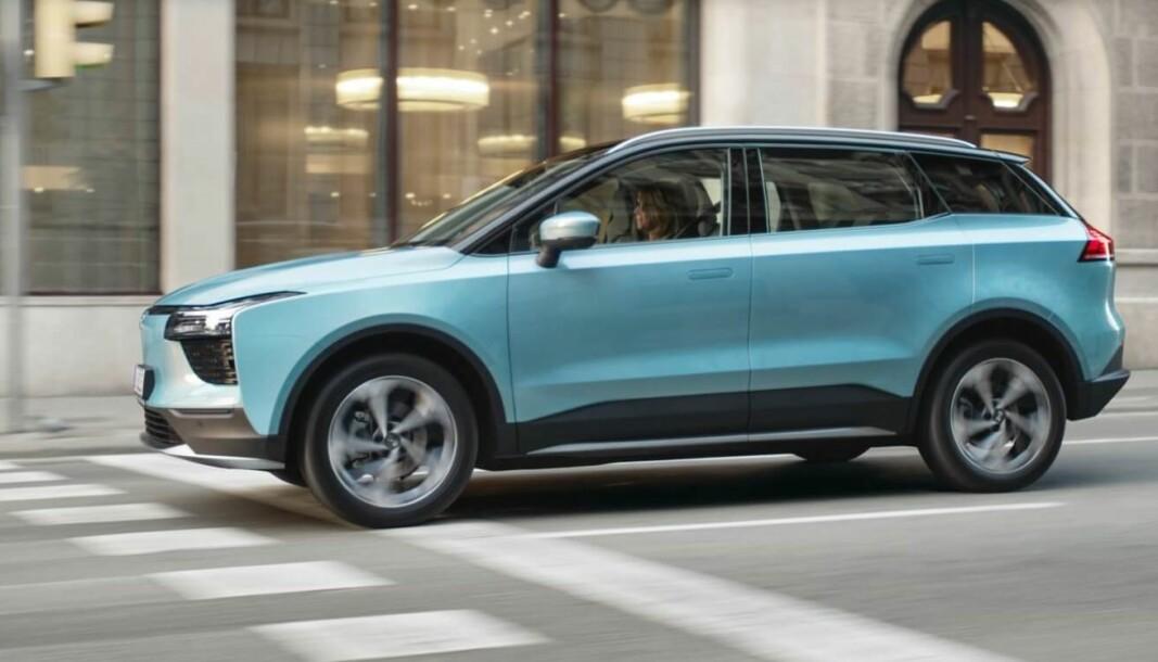 ENDA EN: Klassen for mellomstore SUV-er vokser stadig. Her er elbilen Aiways U5.