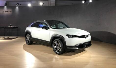 Mazda lager bensinvariant av den nye elbilen