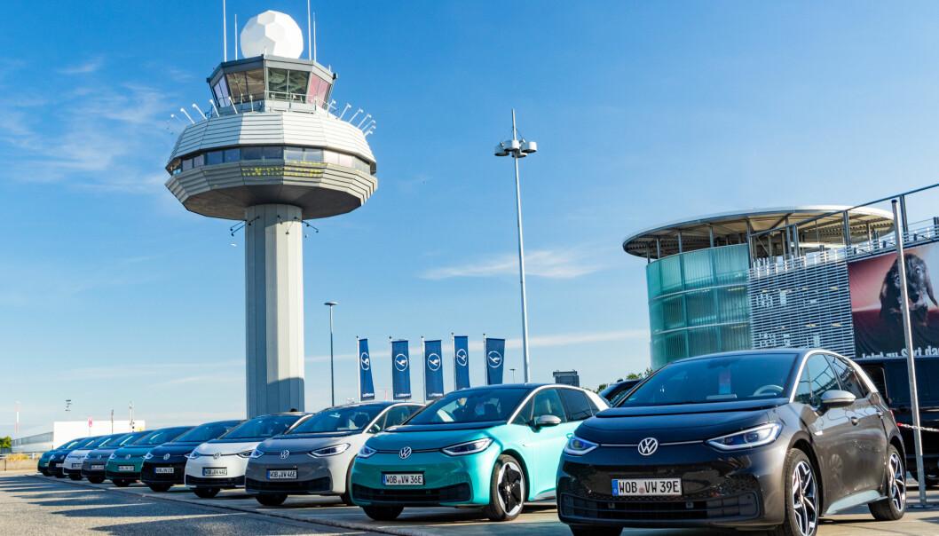 <b>FREMTIDEN ER HER: </b>VW ID.3 debuterte på registreringsstatistikken i august.