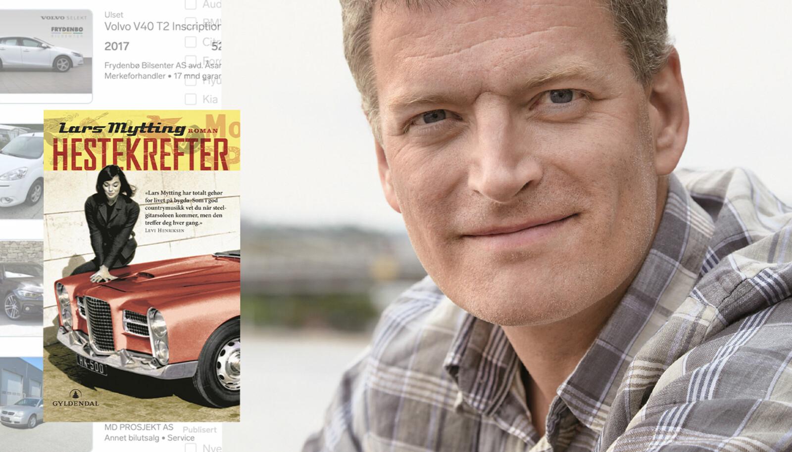 ORDKUNSTER: Forfatter Lars Mytting husker stadig annonseteksten på bruktbilen han solgte raskest.