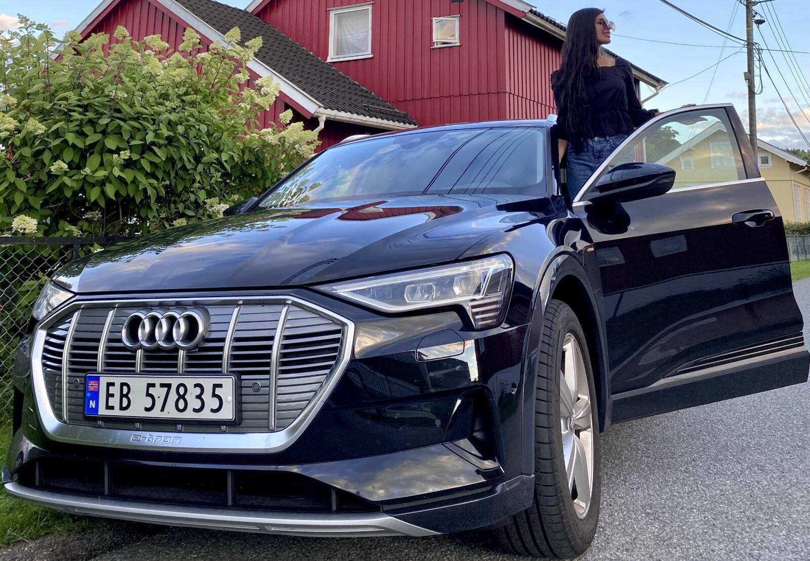 <b>NETTVENN:</b> Sundas Khan fra Bjørndal i Oslo googlet – og falt for Audi.