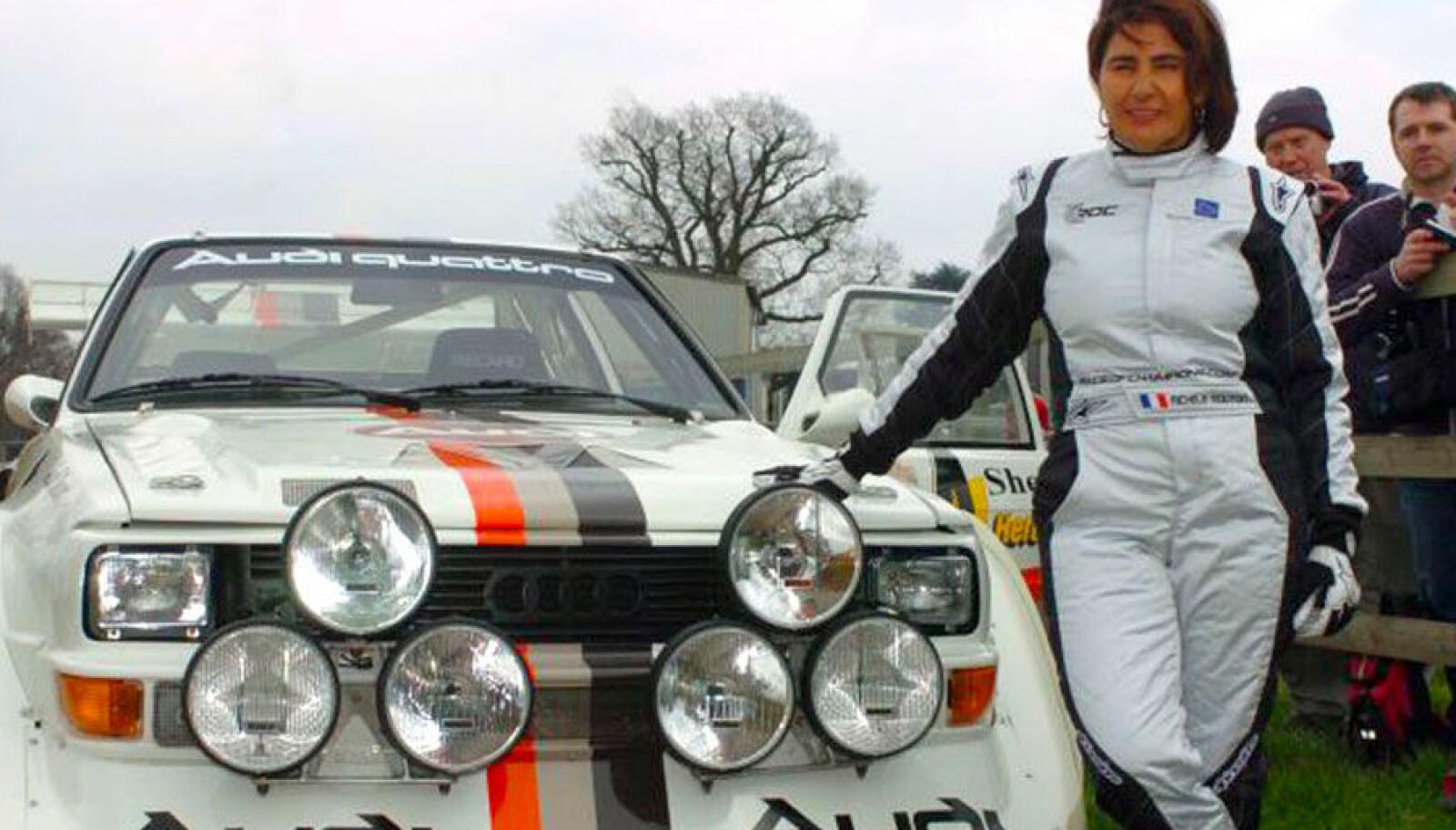 <b>UR-KVINNEN:</b> Michèle Mouton vant rally-VM i en Ur-quattro. Og verden ble aldri den samme.