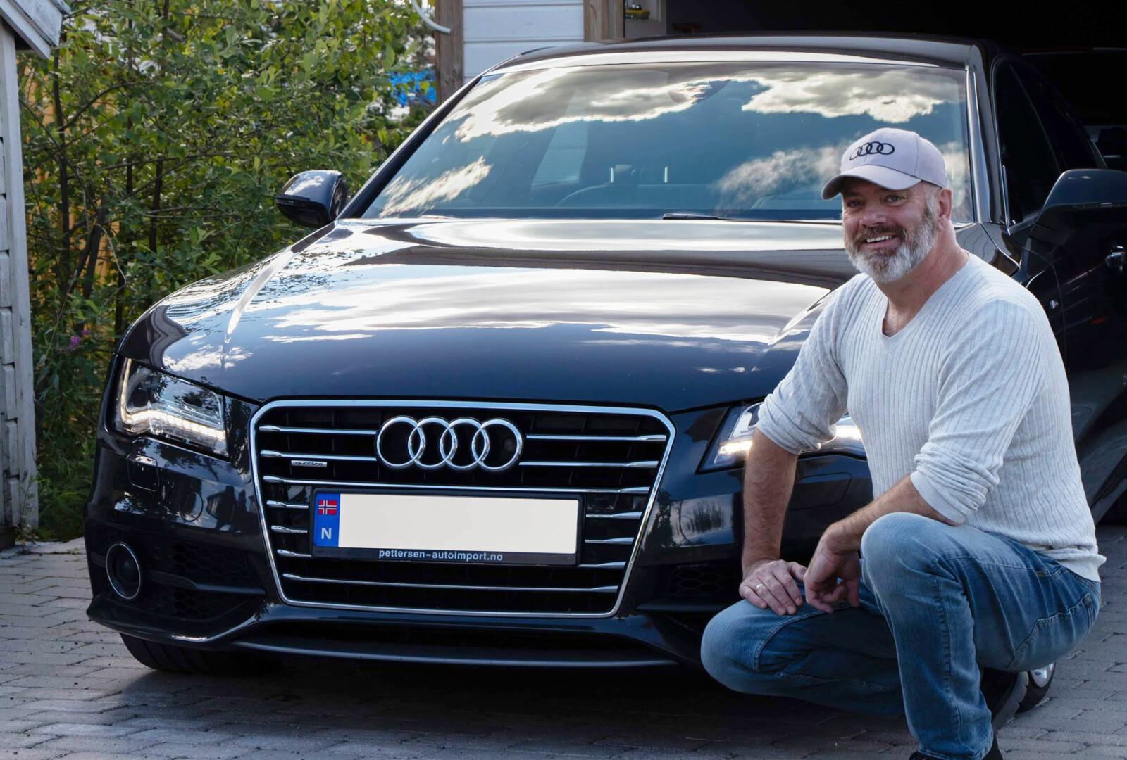 RINGENES HERRE: Lars Hjelset er audianernes høvding, selveste formannen i Audi Club Norway.