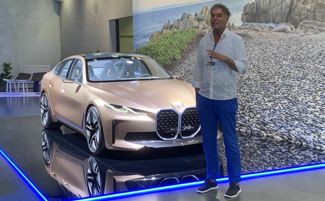 SELGER FOSSILT: – Men BMW satser elektrisk, sier pressetalsmann Wieland Bruch.