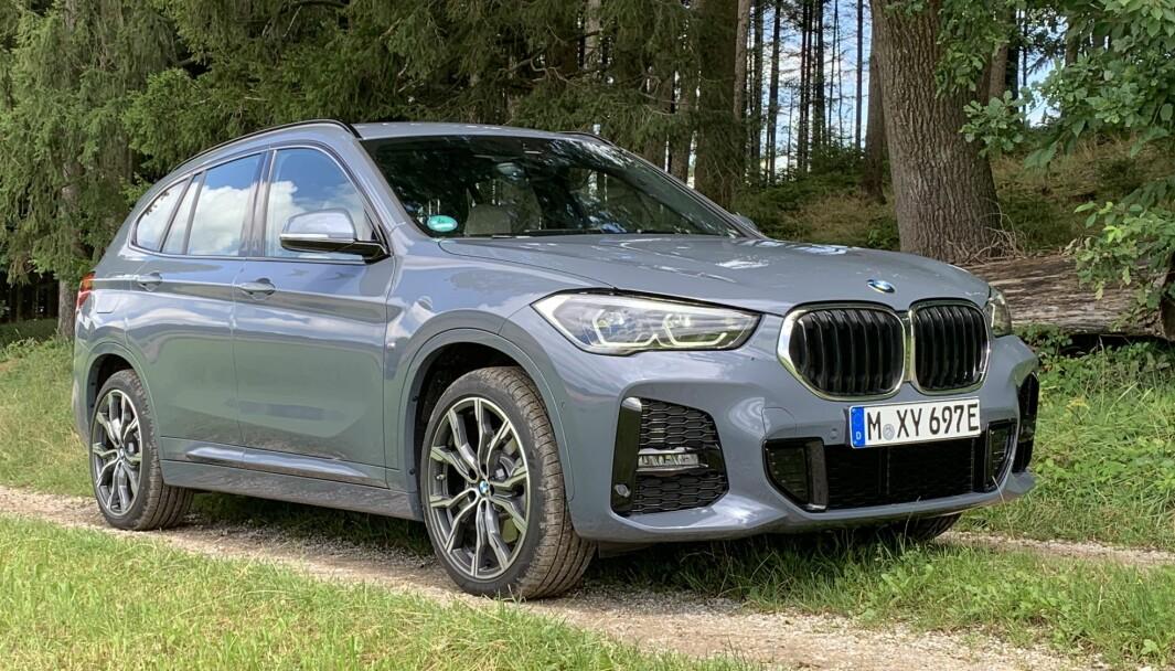 ANSIKTSLØFTET: BMW X1 fikk en optisk oppgradering samtidig med at den ble lansert som ladbar hybrid.