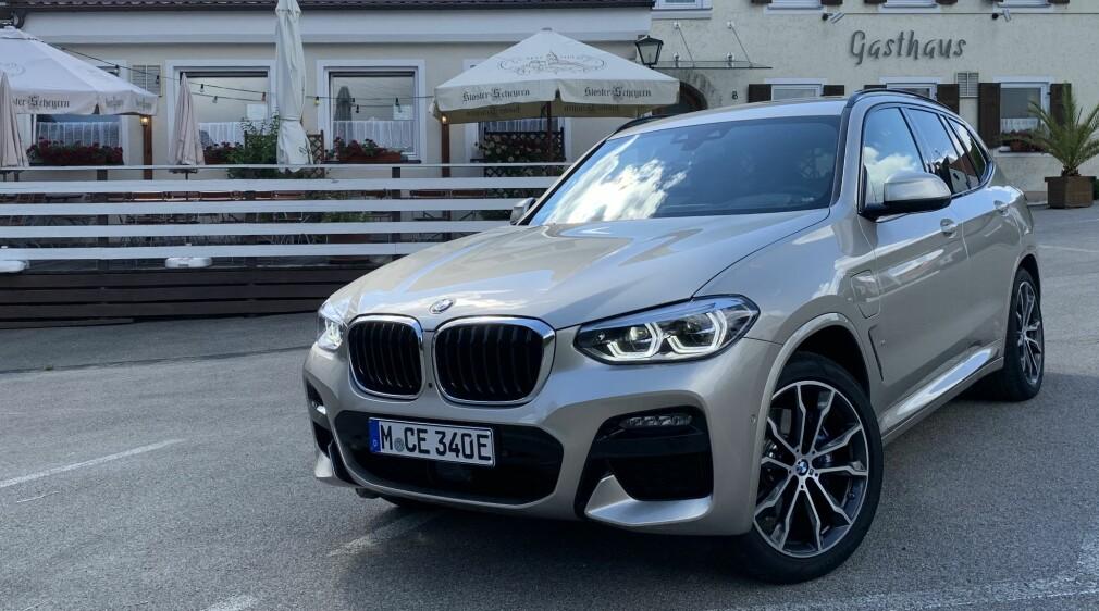 X3 er en gullegod, ladbar BMW!