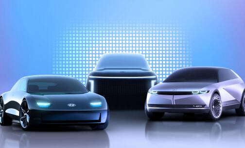 Lanserer tre nye elbiler på fire år