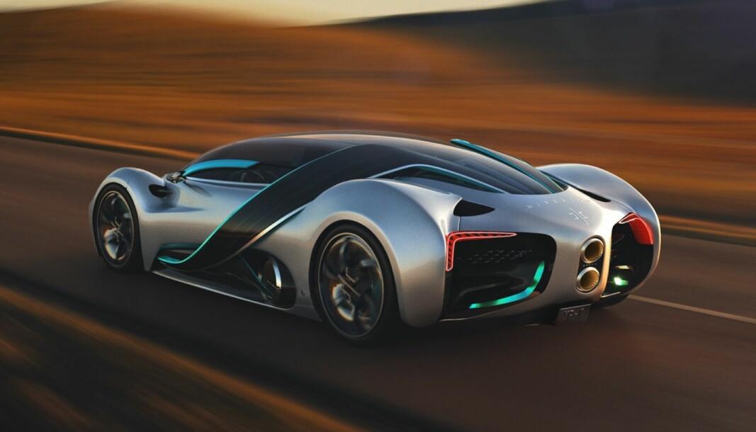 HYPERION XP-1: Dette er ikke en superbil, men en hyperbil. Selskapet bak den mener de for alvor har greid å temme hydrogenet.