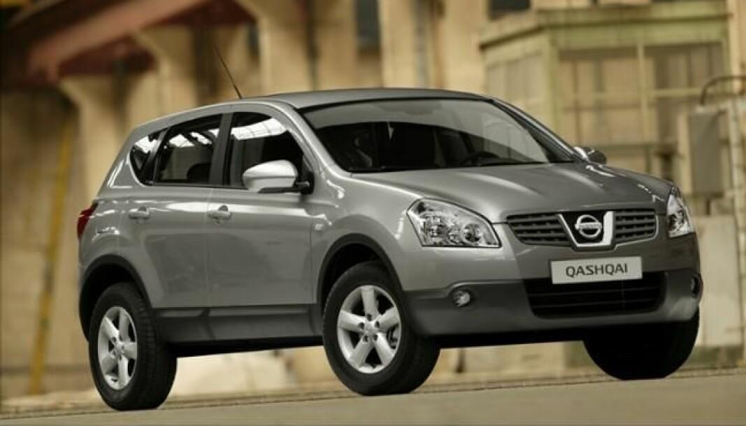 <b>TRENDSETTER:</b> Nissan Qashqai skapte sin egen klasse da den kom med sitt SUV-preg og muligheten for bare tohjulstrekk.