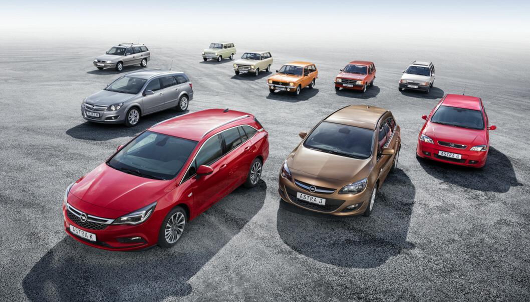 <b>TROFAST:</b> Opel har mange lojale kunder, og Astra - som erstattet rekka med Kadetter i 1991 - har vært en favoritt for mange av dem.