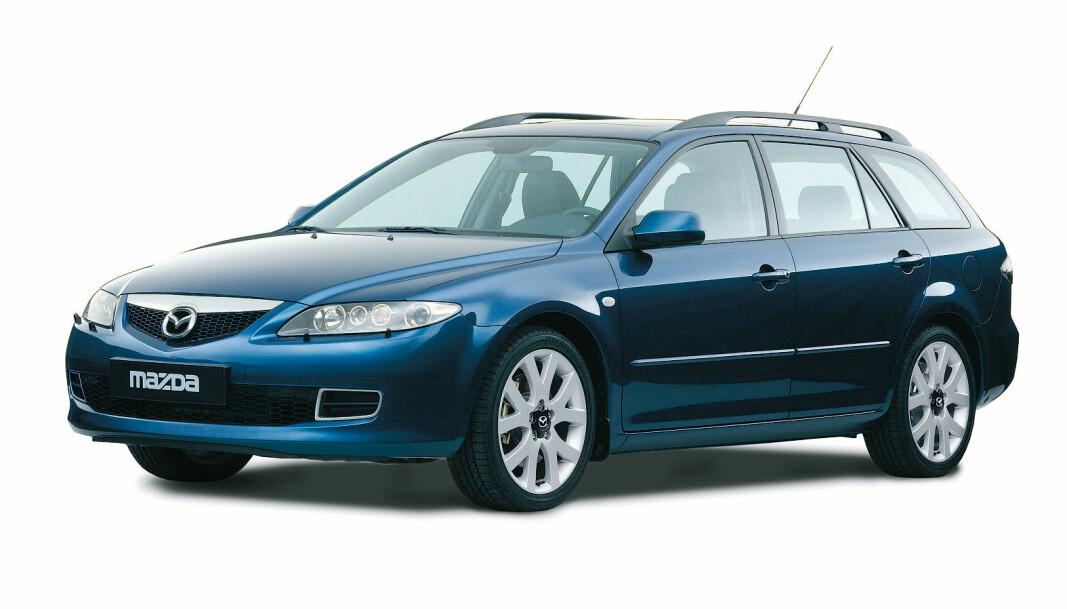 <b>TROFAST:</b> Mazda 6 solgte best første halvdel av 2000-tallet, men solid bra i en årrekke - dog litt i skyggen av Passat, Avensis og Mondeo.