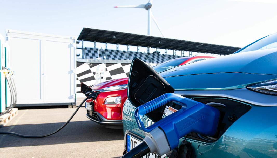 <b>FØR START: </b>Kona har strålende resultater også fra rekkeviddetestene til Motor og NAF.S