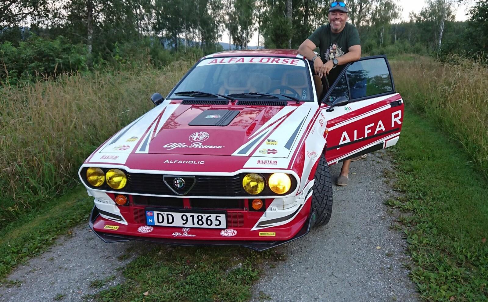 <b>FINN 15 FEIL:</b> – Å være Alfa-entusiast handler om å nyte bilen med alle dens feil, sier Eirik Nordbye.