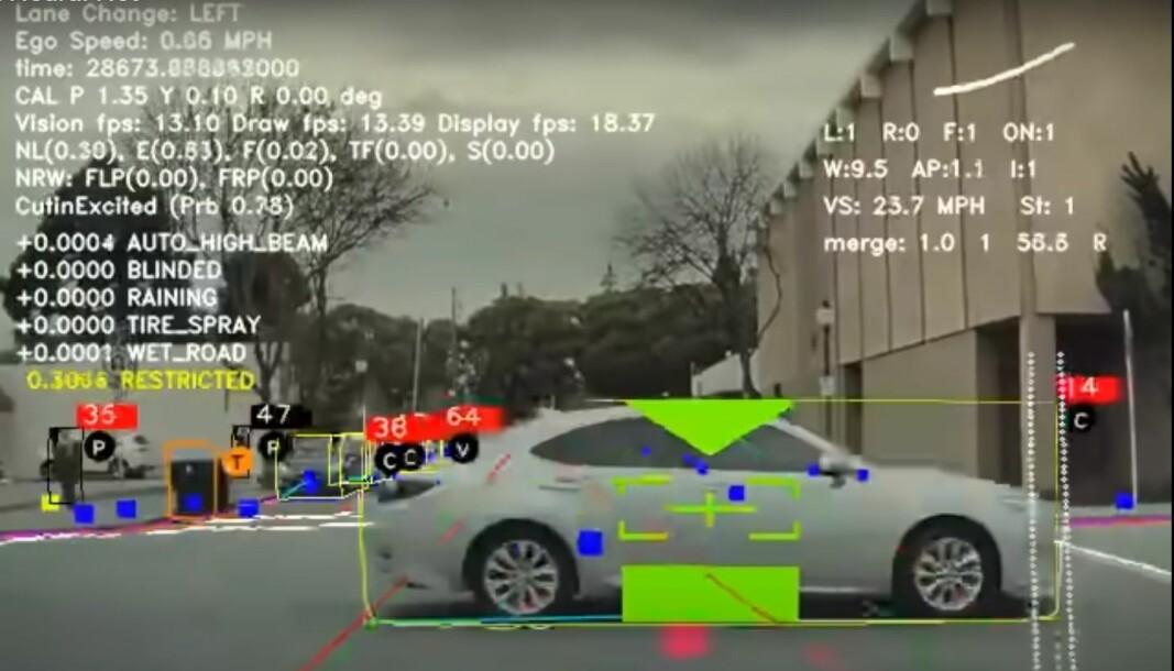 KLARER SEG SELV: Neste generasjon Autopilot/Full Self-Driving (FSD) skal snart være klar for kundene.
