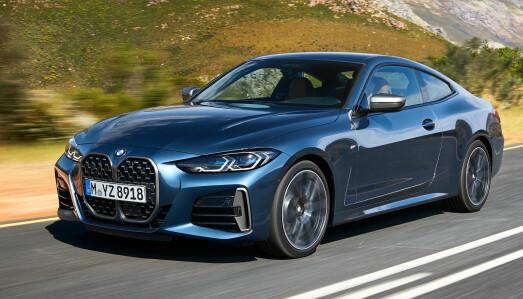 <b>BMW 4-SERIE COUPE: </b>Drivlinje: Bensin turbo / diesel turbo