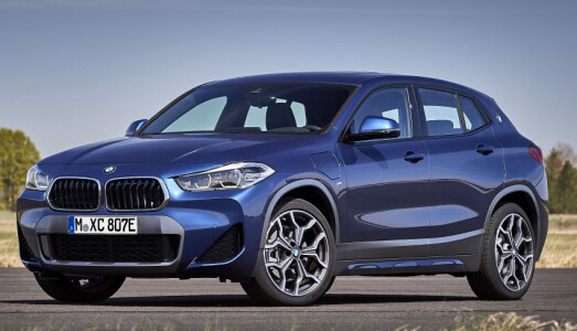 <b>BMW X2 XDRIVE 25e. </b> Ladehybrid. 2,0 liters bensin turbo + elmotor. 224 hk.