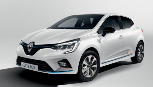 <b>RENAULT CLIO E-TECH HYBRID</b>: Bensin, fullhybrid. 1,2 l bensin + elmotor. Effekt: 140 hk
