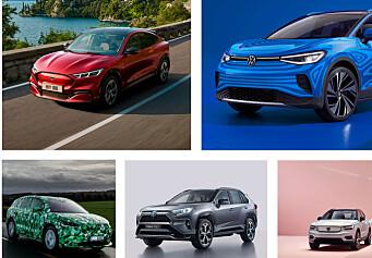 Her er de viktigste bilnyhetene som kommer