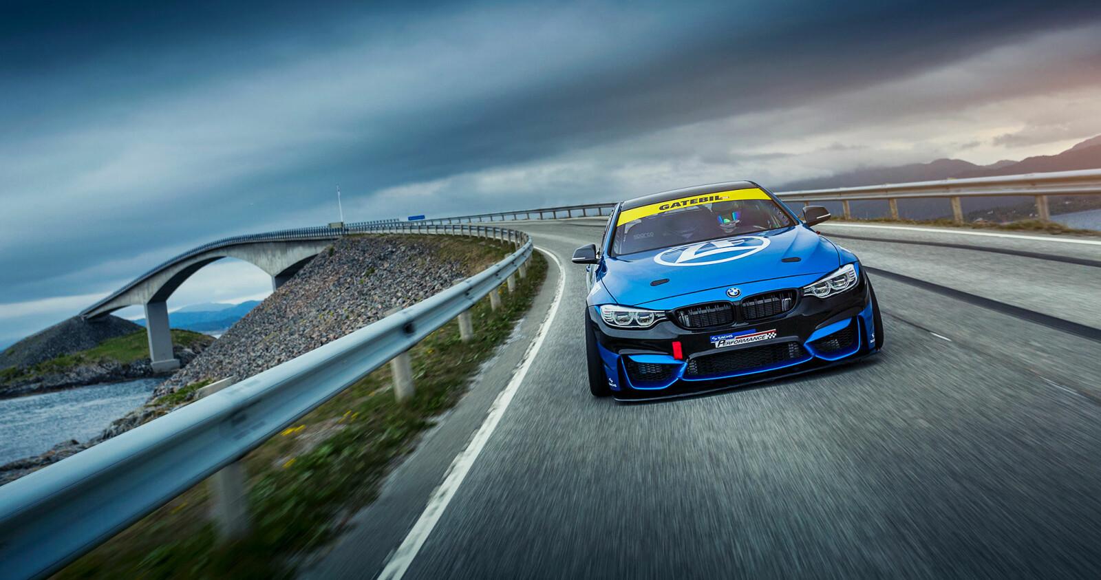 <b>NORGESDRØMMEN:</b> Joachim Waagard gikk fra Mazda til BMW. Og der har han blitt.