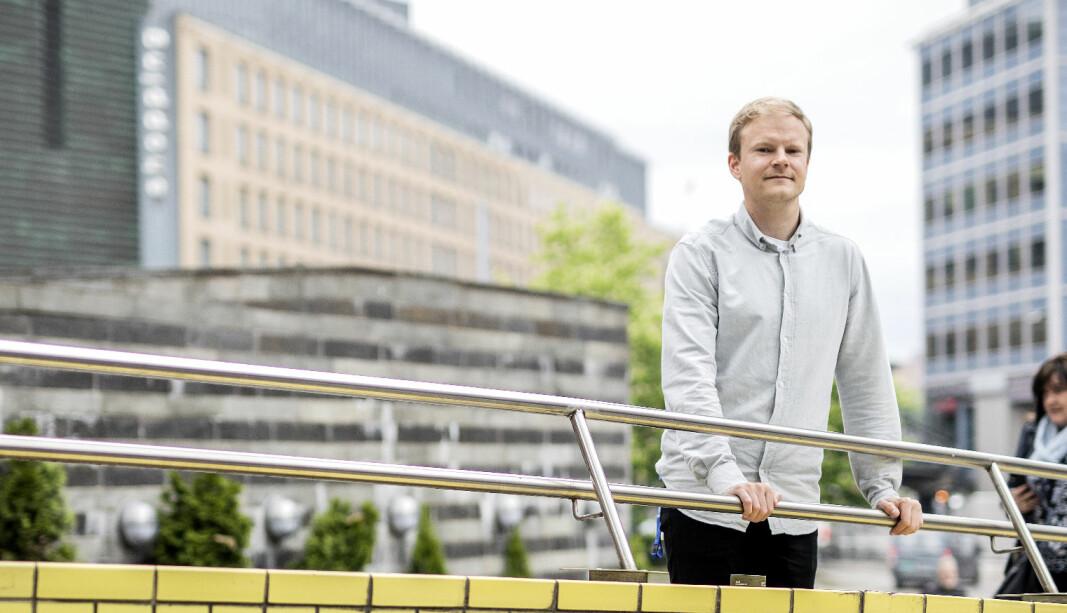 <b>NY FORSKNING OM ELBIL-NORGE</b>: Forskningsleder Askill Harkjerr Halse i TØI.