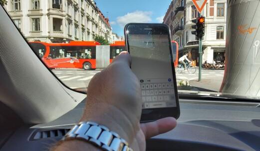Mobilbruk i kø er lov