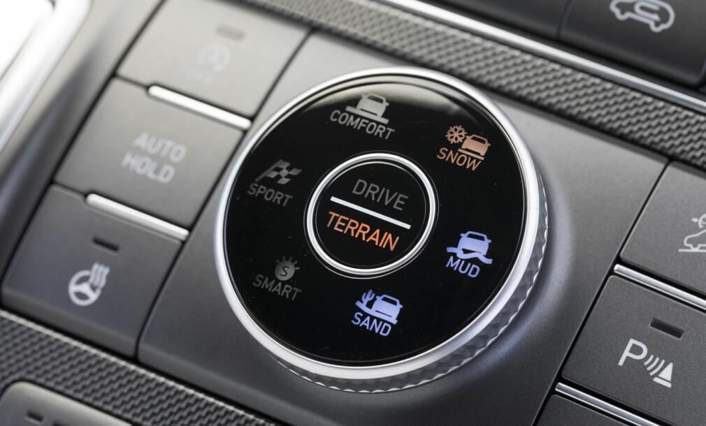 Ny og mer effektiv firehjulsdrift på stor-SUV-en