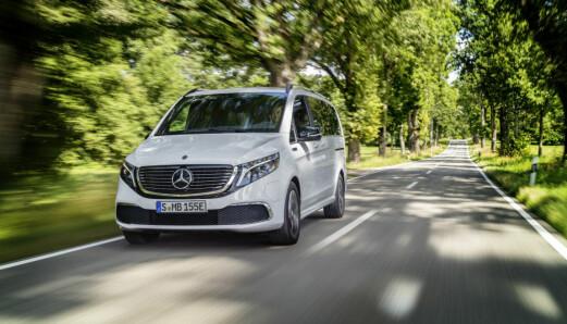 Er dette Mercedes-alternativet til Model X?