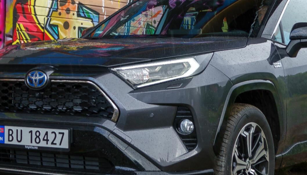 Toyota tar sjumilssteg mot elektrifisering