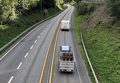 Kan bli økt fartsgrense for henger i 2021