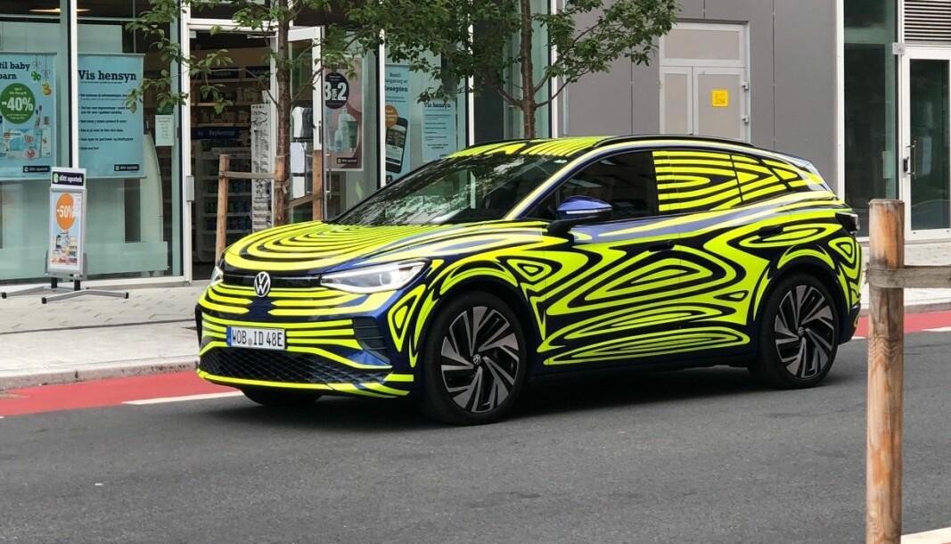 <b>ELBILHÅPET</b>: ID.4 skal bli bilen som gjør vei i vellinga for VW på elbilfronten.