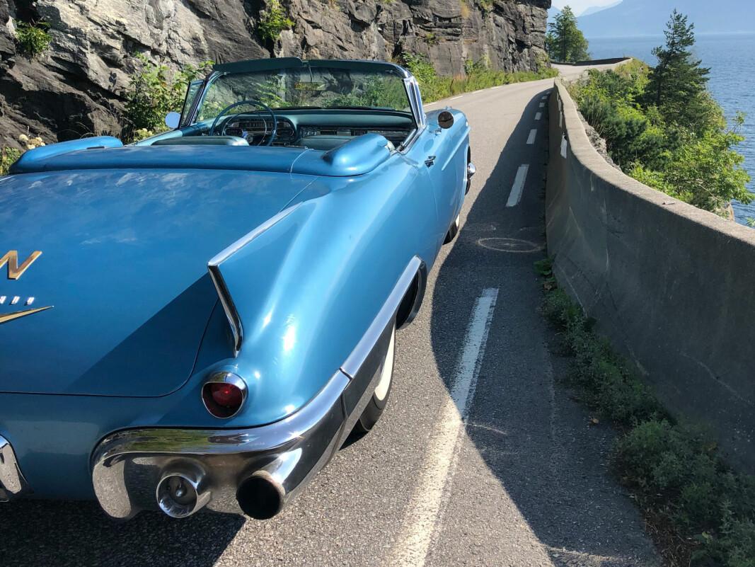 <b>ET STORT STYKKE AMERIKA: </b>Cadillac Eldorado 1957.